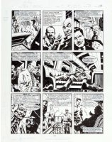 MORROW, GRAY - DC Big Book of Scandal pg 3, Robert Vesco (financial fraud & Nixon donor) 1997 Comic Art