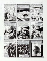 MORROW, GRAY - DC Big Book of Scandal pg 4, Robert Vesco (financial fraud & Nixon donor) 1997 Comic Art