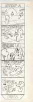 Warren Kremer - Casper the Friendly Ghost,  Film Comic Strip A - Wendy & Casper - sports 1960s Comic Art