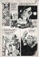 HOWELL, RICHARD - Hawkman #3 pg 6, Hawkman beats the truth out of an evil Thanagarian! Comic Art