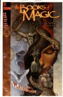 HALL, AUGUST - Books of Magic #19 painted cover w/ logo overlay, Tim Hunter Rimple Araquel Tanger Molly Comic Art