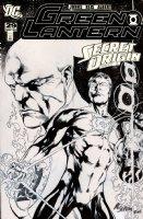 REIS, IVAN and Mike SELLERS - Green Lantern v4 #29 cover - Hal Jordan & Abin Sur w/ Alan Moore origin - 2008 Comic Art