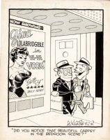 KILGORE, AL - Good-Girl Weekly Magazine Cartoon -  Gina Lolabridgible  film  Comic Art