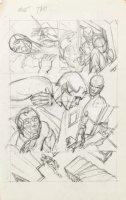 KANE, GIL - Marvel Team-Up #4 full-size prelim story pg 2, Peter Parker, Harry  '72 Comic Art