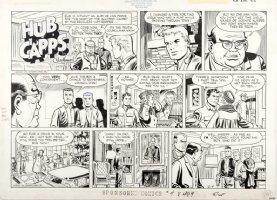 MAURER, NORMAN - Hub Capps Sunday & Color Guide Sponsored Comics, 1959 Comic Art