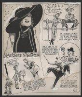 BAILY, BERNARD - Feature Funnies #1 title pg, 1937 Comic Art