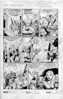 SCHROTTER, GUS (Iger Shop) - Rangers #52 page 9 of 10 page Firehair story Comic Art