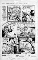SCHROTTER, GUS (Iger Shop) - Rangers #52 page 3 of 10 page Firehair story Comic Art