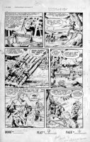 SCHROTTER, GUS (Iger Shop) - Rangers #52 page 4 of 10 page Firehair story Comic Art