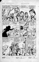 SCHROTTER, GUS (Iger Shop) - Rangers #52 page 2 of 10 page Firehair story Comic Art
