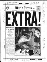 CRAIG, JOHNNY - Extra #3 cover EC 1955 Comic Art