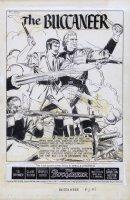 EVANS, GEORGE - Buckineer (Charlton Heston, Yul Brynner) Classics #148 Comic Art
