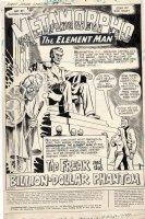FRADON, RAMONA - 1st Issue Special #3 cover & complete story pg 1, splash Metamorpho 1975 Comic Art