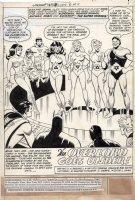 FRADON, RAMONA - Super Friends #15 story pg 1 Splash Comic Art