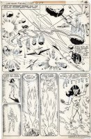 FRADON, RAMONA - Super Friends #15 complete story pg 11 Splashy art Comic Art