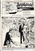 DeZUNIGA, TONY - Jonah Hex #86 complete story pg 1, The Slaughterhouse! Comic Art