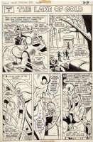 FRADON, RAMONA - 1st Issue Special #3 cover & complete story chapter 3, Metamorpho 1975 Comic Art
