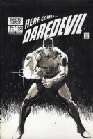 JANSON, KLAUS - Daredevil #193 cover with complete story Comic Art